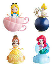 Bandai Disney Princess Capchara Heroine Doll 4 Figure TinkerBell set 4 pcs