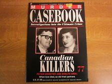 Peter Demeter, Evelyn Dick, MURDER CASEBOOK 77, Canadian Killers, John Dick.