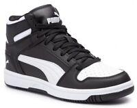 PUMA REBOUND LAYUP SL JR scarpe donna uomo ragazzo alte sneakers mid basket run