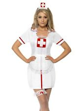 Sexy Nurse Costume Kit Include Hat Garter And Mesh Apron