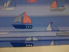 Made to Measure Blackout  Roman blind Laura Ashley *On The Sea* chain sidewinder
