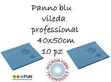 PANNO BLU VILEDA PROFESSIONAL PZ.10 (2conf.da 5 pz.)CM.40x50