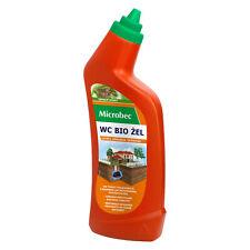 Gel WC fosse septique épuration Microbec Bio odeur pin 750 ml