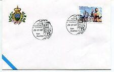 2002-01-26 San Marino 15° fiera piacentina filatelia ANNULLO SPECIALE Cover