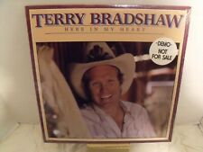 New listing Terry Bradshaw Here In My Heart 1981 Vinyl Lp Hw R3735 Sealed New Demo Lp