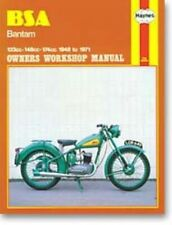 Haynes Bsa Bantam 1948-1971 Owners Motorcycle Workshop Manual : H117