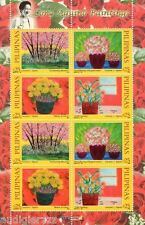 2014 Cory Aquino Painting Rose Scented Stamps