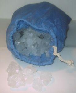 20 kg Himalaya Kristallsalz -Speisesalz---Halite-Sole Brocken--im Leinensack