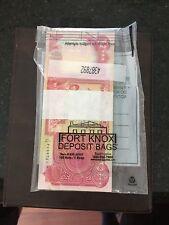🔥US Treasury Registered 💥 UNC 100,000 Iraqi 4 x 25,000 Dinar Banknotes