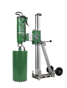 Diamond Drill Motor With Rig 500mm Diameter - Core Drilling- Diamond Cores