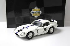 1:18 Exoto Shelby Cobra Daytona Coupe white #56 bei PREMIUM-MODELCARS