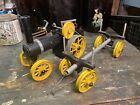 Live Steam Mamod TWK1 Traction Engine And Trailer Kit Built Model Toys