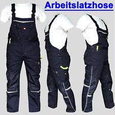 Latzhose limette Arbeit workwear Cargo Berufskleidung Bauarbeiter jede Gr. 46-62