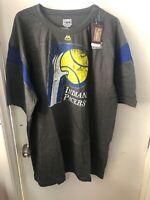 Indiana Pacers Men's 3xl Big & Tall Pieced Shoulder Shirt New Nba Basketball New