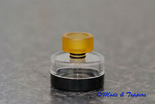 LOW PROFILE 510 PEEK Drip Tip - Wide Bore Mouthpiece for 510 Atomisers