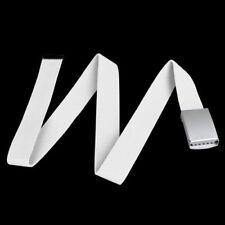 Cinture Cintura Bianca Cintura A Nastro In Tessuto Di Cotone Canvas T9J7