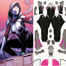 Spiderman Spider-Gwen Costume Pattern - Spider Woman Gwen Stacy