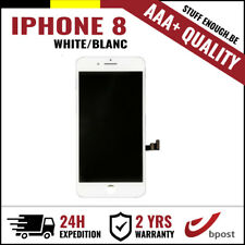 AAA+ LCD SCREEN VITRE TACTILE DISPLAY/SCHERM/ÉCRAN WHITE BLANC FOR IPHONE 8