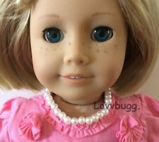 "Pearl Necklace Jewelry for American Girl 18"" Doll Lovv That Lovvbugg!"