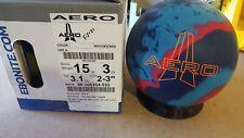 NEW 15lb Ebonite AERO Solid Reactive Bowling Ball 21221