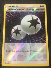 Pokemon : SM SHINING LEGENDS DOUBLE COLORLESS ENERGY 69/73 UNCOMMON REVERSE