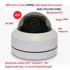 2MP IR 30m IP66 HD Analog 2.5 inch AHD/TVI/CVI/CVBS High speed analog PTZ camera