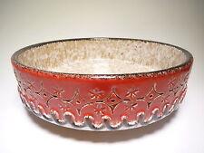 Pottery bowl mid century european , Keramik Schale 50s 60s WGP , NO fat lava