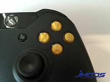 Xbox One 1 Custom ABXY Buttons with Letters Mod Kit (Yellow)