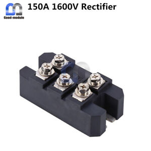 MDS150-16 3-Phase Full Wave Bridge Rectifier Diode 150A Amp 1600V MDS150A MDS