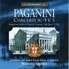 Paginini - Concerti no. 3 e 5 - CD -