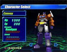 Transformers PS2 TAKARA Sony PlayStation 2 From Japan