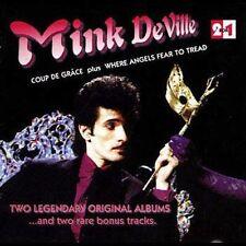 MINK DEVILLE - Coup De Grace/where Angels Fear To Tread - CD -