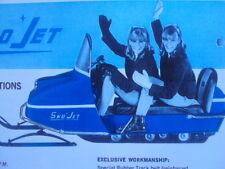 1967 SNO JET Snowmobile Brochure
