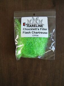 Fly Tying Hareline Chocklett's Filler Flash- Chartreuse