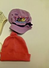 2 Piece Hat Lot Girls Toddler One Size Hat Lot Great Condition & New