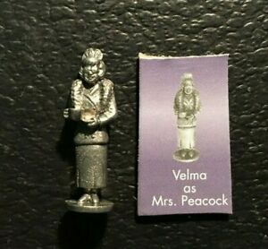 Clue Scooby Doo VELMA as MRS PEACOCK  PEWTER TOKEN Replacement 2003 FREE SHIP