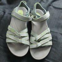 Teva Tirra Women's Tirra Summer Strap Sandals SZ 6.Gray Green
