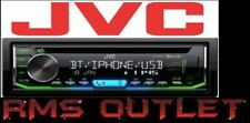 New JVC KD-R992BT Single Din Bluetooth CD AUX USB Multicolor Low Price