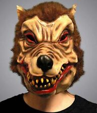 Wolfman Mask Halloween Fancy Dress Party Decor Adult Unisex Accessory Costume