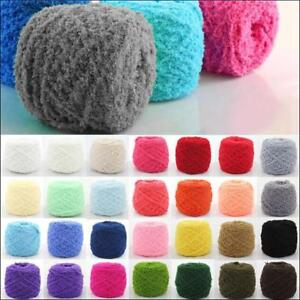 100g Soft Natural Yarn Hand art Crochet knitting thick Coral cashmere Fluffy