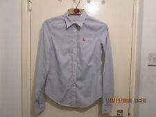 JACK WILLS SEMI FITTED SHIRT SIZE 8 IN A BLUE MIX