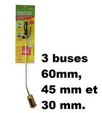 DESHERBEUR THERMIQUE BRUL STAR PRO MONOBUSE pour 500 M² livré avec 3 buses