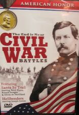 Civil War Battles:The End Is Near NEW 2 DVD, Vicksburg, Atlanta,Franklin,History