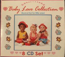 """Baby Love Collection """"Musical Fun For Little Ones!"""" 8 CD Box Set - 5 Unopened"""