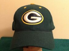Logo Athletic Green Bay Packers Vintage Snapback NFL Cap, Hat 90's