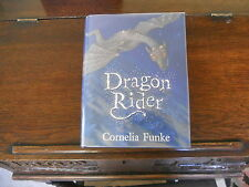 DRAGON RIDER, Cornelia Funke, SIGNED w/DRAWING 1st ed/1st print UK,2004 HCDJ