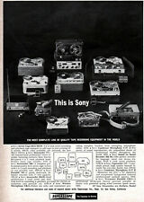 Sony Superscope Stereo Tape Recorders MULTIPLEX READY Microphones STERECORDER Ad