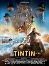 Bande annonce cinéma trailer 35mm 2011 AVENTURES TINTIN Spielberg NEUVE amorces