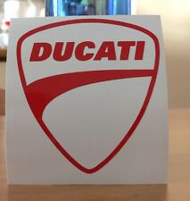 adesivo DUCATI sticker decal vinyl vinile moto racing