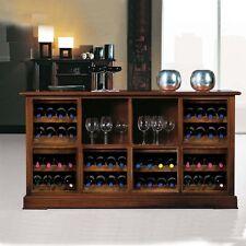 Mobile Soggiorno Credenza Cantina 8 vani porta bottiglie